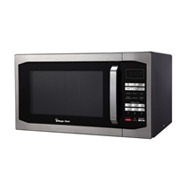 Picture of MAGIC CHEF-1.6 Cu. Ft. 1100 Watt Microwave Oven - Stainless Steel