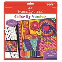 Picture of CREATIVITY FOR KIDS-Color by Number LOVE