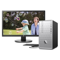 Picture of HEWLETT PACKARD-Pavilion Desktop PC w/ 23.8 inch HD Monitor