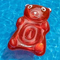 Picture of SWIMLINE-Gummy Bear Inflatable Pool Lounger - (Red)