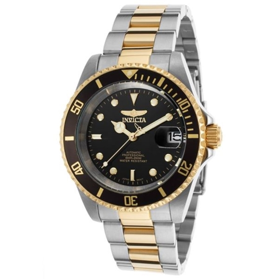 Picture of INVICTA WATCHES-Men's Pro Diver Automatic 3 Hand Black Dial Watch