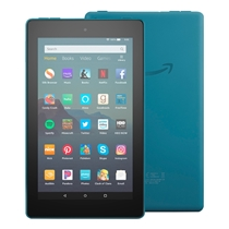 Picture of AMAZON-Fire 7 Tablet - (7 Inch Display 32GB) - (Twilight Blue)