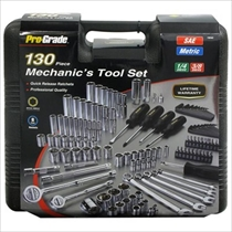 Picture of ALLIED INTERNATIONAL-130 - Piece Mechanics Tool Set with Case