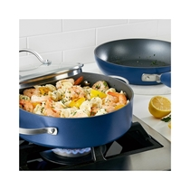 Picture of ANOLON-3 - Piece Advanced Home Nonstick Cookware Set