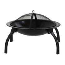 Picture of DECKMATE-Quick Fire 22 inch Steel Firebowl