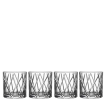 Picture of ORREFORS-City Double Old Fashion set 4