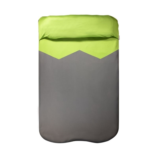 Picture of KLYMIT-V Sheet Double Cushion - (Green and Grey)
