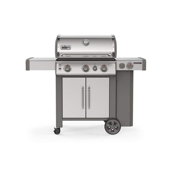 Picture of LAPINE-Genesis II S-335 LP SS With 21 Inch Grill Brush&Premium Grill Cover - Genesis II 300 Series