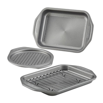 Picture of CIRCULON-4 - Piece Total Bakeware Nonstick Toaster Oven and Pizza Pan Set
