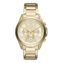 Picture of ARMANI EXCHANGE-44mm Mens Drexler Stainless Steel Watch - (Gold)