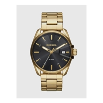 Picture of DIESEL-42mm Mens MS9 Three Hand Date Stainless Steel Watch - (Gold)
