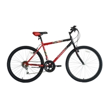Picture of BIKE USA-26 inch Mens Pioneer Mountain Bike Red
