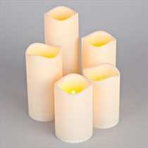 Picture of EVERLASTING GLOW-5 Piece Flameless Candle Set