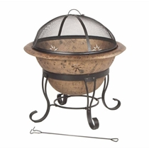 Picture of DECKMATE-Soleil Steel Fire Bowl