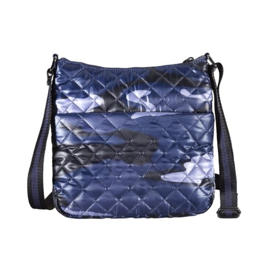 Picture of OLIVER THOMAS-Kitchen Sink Cell Crossbody in Blue Camo
