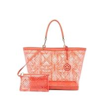 Picture of TRINA TURK-Marina Tote Bag - (Bright Coral)