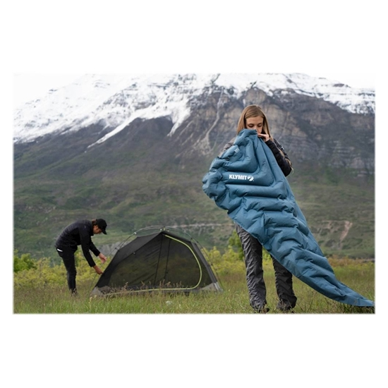 Picture of KLYMIT-Static V Luxe SL Sleeping Pad - (Blue)