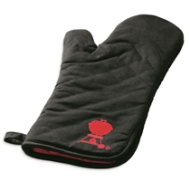 Picture of WEBER-Barbeque Mitt - BLK w Red Kettle