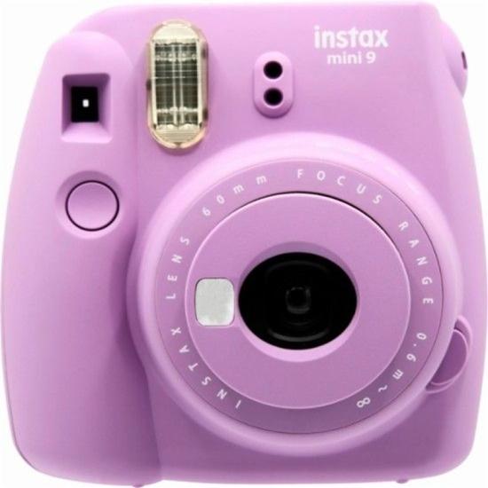Picture of FUJI-Instax Mini 9 Instant Film Camera - (Smokey Purple)