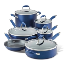 Picture of ANOLON-11 - Piece Cookware Set - (Blue)